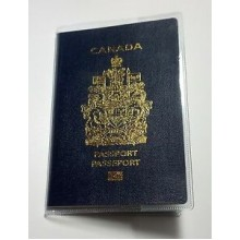 Passport Case - Clear   Set of 12 )
